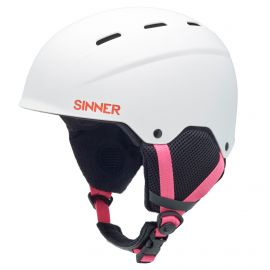 Sinner Poley helm junior matte white
