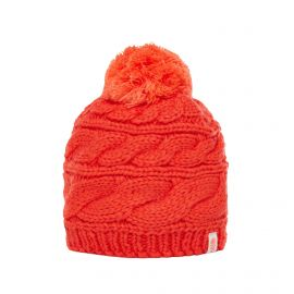 The North Face Triple Cable Beanie muts dames fire brick red