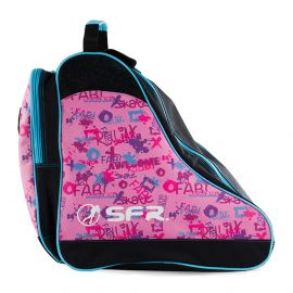 SFR Bag schaatstas pink graffiti
