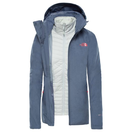 754fb1bdf68 The North Face Inlux Triclimate outdoor jack dames grisaille grey heather