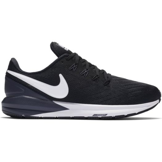 Nike Air Zoom Structure 22 AA1640 hardloopschoenen dames black gridiron  white
