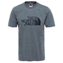 The North Face Easy T-shirt heren tnf medium grey heather