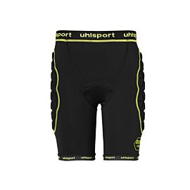 Uhlsport Bionikframe padded short heren black fluo yellow
