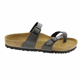 Birkenstock Mayari slippers dames pull up anthracite