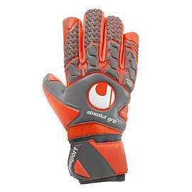 Uhlsport Aerored Absolutgrip keepershandschoenen dark grey red white
