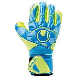 Uhlsport Radar Control Absolutgrip Finger Surround keepershandschoenen blue fluo yellow