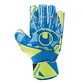 Uhlsport Control Soft SF keepershandschoenen junior blue fluo yellow