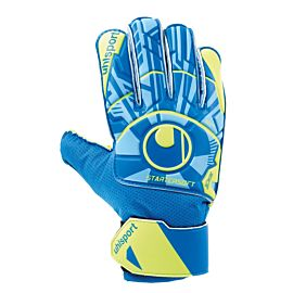 Uhlsport Radar Control Starter Soft keepershandschoenen blue fluo yellow