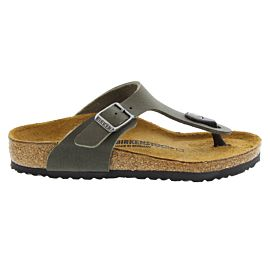 Birkenstock Gizeh slippers junior desert soil green