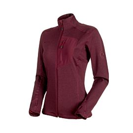 Mammut Aconcague Light fleece vest dames merlot melange
