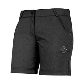 Mammut Massone short dames black melange
