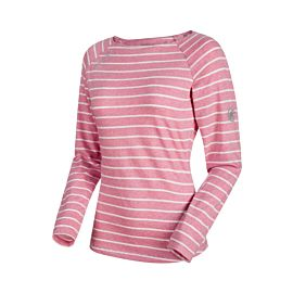 Mammut Wall Long Sleeve shirt dames rose melange white melange