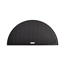 Kamado Joe half moon cast iron reversible griddle Classic Joe grillplaat