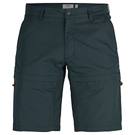 Fjällräven Travellers short heren dark navy