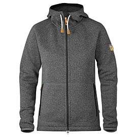 Fjällräven Övik fleece vest dames dark grey
