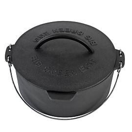 Big Green Egg gietijzeren dutch oven