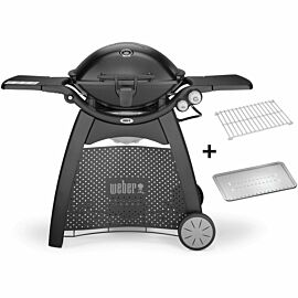 Weber Q3200 gasbarbecue station black