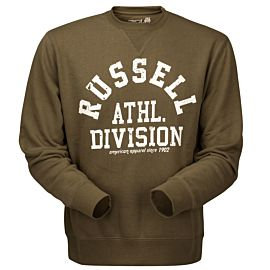 Russell Athletic Crew Neck trui heren dusty olive