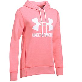 Under Armour Favorite fleece hoodie dames red