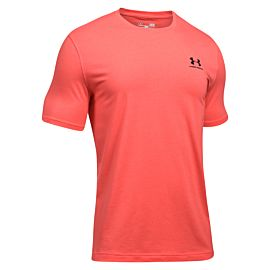 Under Armour Sportstyle shirt heren vermillion