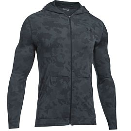 Under Armour Threadborne Fitted hoodie heren gray