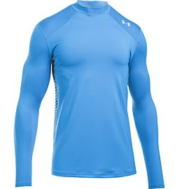 Under Armour ColdGear Reactor Fitted shirt heren blue