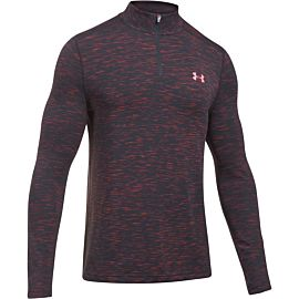Under Armour Threadborne Zip shirt heren red