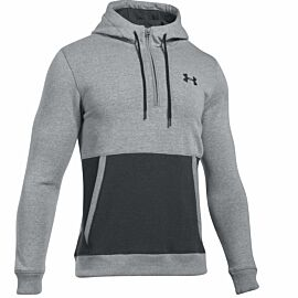 Under Armour Threadborne Zip fleece hoodie heren gray