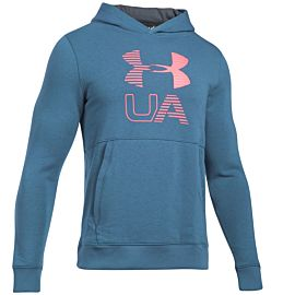 Under Armour Graphic fleece hoodie heren navy