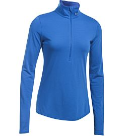 Under Armour Threadborne Streaker zip shirt dames blue