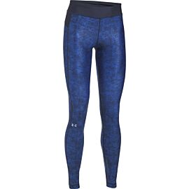 Under Armour HeatGear Armour printed sportlegging dames blue