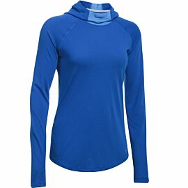 Under Armour Threadborne Run Mesh hoodie dames blue