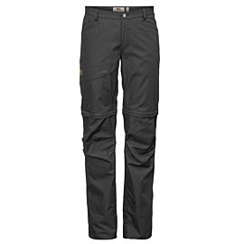 Fjällräven Daloa Shade Zip-Off wandelbroek dames dark grey