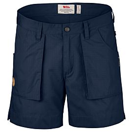 Fjällräven Travellers short dames dark navy