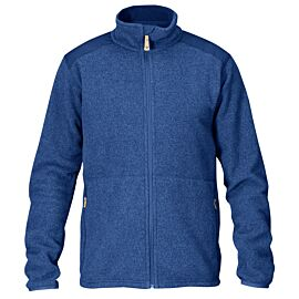 Fjällräven Sten fleece vest heren deep blue