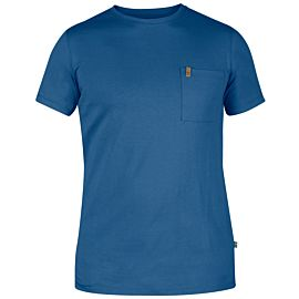 Fjällräven Övik Pocket shirt heren uncle blue