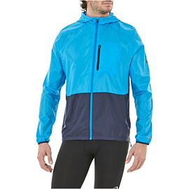 ASICS Packable hardloopjack heren race blue peacoat