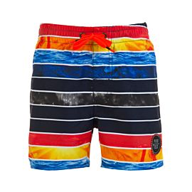 Protest Rainton TD Beachshort zwembroek junior ground blue