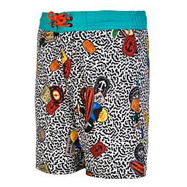 Protest Benson JR Beachshort zwembroek junior ture black