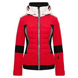 Toni Sailer Manou winterjas dames pink red