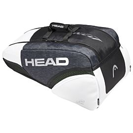 Head Djokovic 9R Supercombi tennistas black white