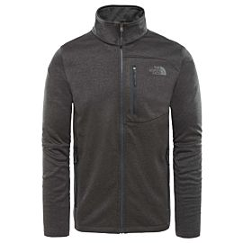 The North Face Canyonlands Full Zip Fleece vest heren TNF dark grey