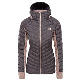 The North Face Thermoball Hybrid Gordon Lyons Hoodie outdoor jack dames rabbit grey misty rose heather