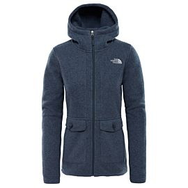 The North Face Crescent fleece vest junior urban navy grey heather