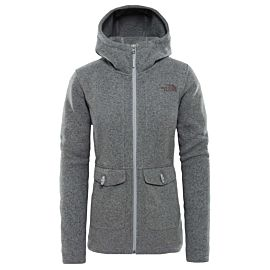The North Face Crescent fleece vest junior TNF medium grey heather