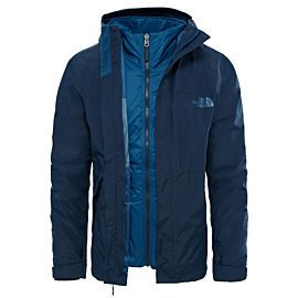 The North Face Naslund Triclimate outdoor jack heren urban navy