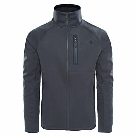 The North Face Canyonlands softshell jack heren TNF dark grey heather