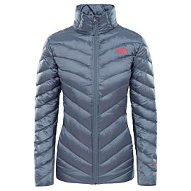 The North Face Trevail donsjack dames grisaille grey