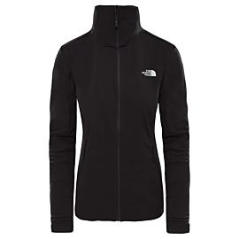 The North Face Inlux softshell outdoor jack dames TNF black