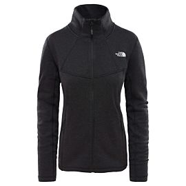 The North Face Wollen Inlux vest dames TNF black